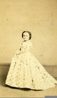 USA Cirque P.T. Barnum Lavinia Warren Naine Tom Thumb Ancienne Photo CDV Charles Fredericks 1870 - Photographs