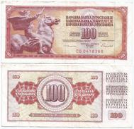 Yugoslavia 100 Dinara 1986 Pick 90.c Ref 1291 - Yugoslavia