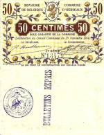 Belgique - Belgium HERSEAUX --> 50 Cmes (29/11/1914 - Série 2) NEUF - [ 3] Occupations Allemandes De La Belgique
