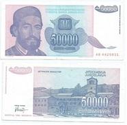 Yugoslavia 50.000 Dinara 1993 Pick 130 Ref 1304 - Yugoslavia