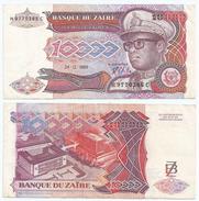 Zaire 10.000 Zaires 1989 Pick 38.a Ref 1308 - Zaire