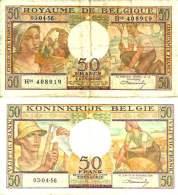 BELGIUM - BELGIQUE - 50 FRANCS 3/4/1956 - Pick 133b TTB (VF) - [ 3] Ocupaciones Alemanas En Bélgica