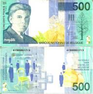 BELGIUM - BELGIQUE  500 FRANCS (1998) Pick 149 TTB (VF) - [ 3] German Occupation Of Belgium