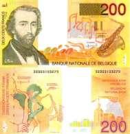 BELGIUM BELGIQUE 200 FRANCS (1995) Pick 148 SUP (XF) - [ 3] German Occupation Of Belgium