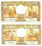 BELGIUM - BELGIQUE - 50 FRANCS 3/4/1956 - Pick 133b TTB+ (VF+) - [ 3] German Occupation Of Belgium