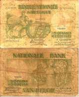 BELGIUM BELGIQUE 50 Fr Ou 10 BELGAS 1/5/1935 (Stacquet/Franck) Pick 106 - [ 3] German Occupation Of Belgium