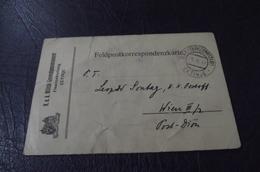 343. Feldpostkorrespondenzkarte  Cetinje  WW1 - Montenegro