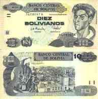 Bolivie - Bolivia 10 BOLIVIANOS (2005 -  Série G) Pick 228 NEUF - UNC - Bolivia