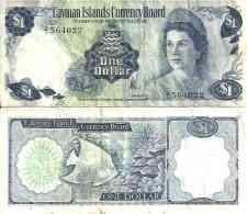 Caïmans - Cayman 1 DOLLAR (1972) - Pick 1a (Série A/1) TTB (VF) - Iles Cayman