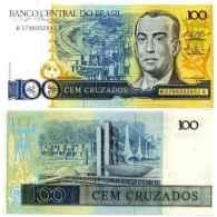 Brésil 100 CRUZADOS Pick 211c NEUF - Brazilië