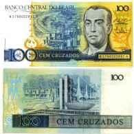 Brésil 100 CRUZADOS Pick 211b NEUF - Brésil