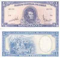 Chili - Chile 1/2 ESCUDOS (1962-75) Pick 134Aa NEUF- UNC - Chili