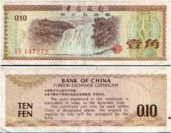 CHINA - CHINE 10 FEN 1979 - Pick Fx1 NEUF - China