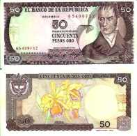 Colombie - Colombia - 50 PESOS ORO 1984 - Pick 425a UNC - Colombia