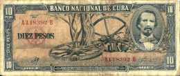 Cuba 10 PESOS Pick 88c (Sig Che Guevara) TTB - Cuba