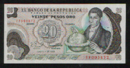 Colombie - Colombia 20 PESOS ORO Pick 409d NEUF - Colombia