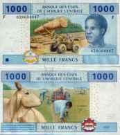 Guinea - Guinée-Equatoriale 1000 FRANCS (2002) Pick 507F UNC - Equatorial Guinea
