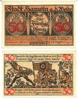 Germany - HAMMELN 1918 - 50 Pfennig H8.4c (UNC) - [11] Emissioni Locali