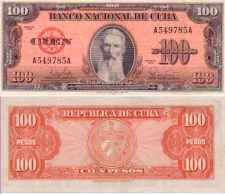100 PESOS 1959 - Pick 93a SUP+ (XF/AU) - Cuba