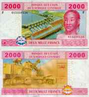 Central Africa States - Guinea -Guinée-Equatoriale 2000 FRANCS (2002) Pick 508F UNC - Guinea Equatoriale