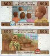 Central Africa States - Guinea - Guinée-Equatoriale 500 FRANCS (2002) Pick 506F UNC - Equatoriaal-Guinea