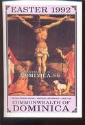 DOMINICA  1448     ; MINT N.H STAMPS ; PAINTINGS BY  GRUNEWALD  ( EASTER  1992 - Dominica (1978-...)