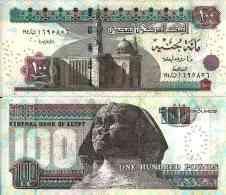 Egypte - Egypt 100 POUNDS (2012) Pick 67 New ) NEUF - UNC - Egipto