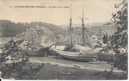 CPA France 56 Morbihan La Roche Bernard Le Port Et Les Roches Magnifiques Bateaux - La Roche-Bernard