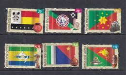 Papua New Guinea SG 1044-1049 2004 Flags Set Part II MNH - Papoea-Nieuw-Guinea