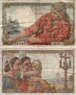 20 Francs PÊCHEUR (Type 1942) 20 FRANCS PÊCHEUR F 13 / 2 TTB- - 1871-1952 Circulated During XXth