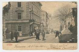 C.P.  PICCOLA     SUSAK    --FIUME  1904           2 SCAN   (VIAGGIATA) - Autres Villes