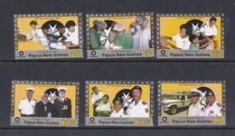 Papua New Guinea SG 1207-1212 2007 St John Ambulance Set MNH - Papua New Guinea