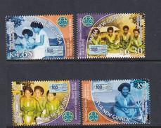 Papua New Guinea SG 1385-1388 2010 Girl Guides Set MNH - Papua New Guinea