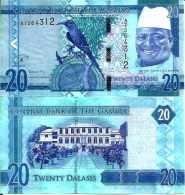 Gambie - Gambia 20 DALASIS New 2015 UNC - Gambie