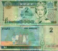 Fiji - Fidji (îles) 2 DOLLARS (2002) Pick 104a NEUF - UNC - Fidji