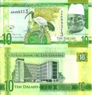 Gambie - Gambia 10 DALASIS New 2015 UNC - Gambie