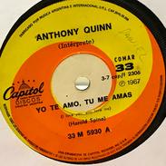 Sencillo Argentino De Anthony Quinn Año 1967 - Vinyl-Schallplatten