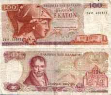 Grèce - Greece 100 DRACHMAI (1978) Pick 200a TB+ - Griekenland