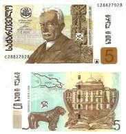 Georgie - Georgia 5 LARI 2002 - Pick 70a NEUF (UNC) - Géorgie