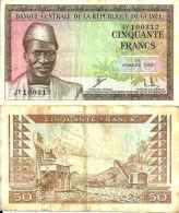 Guinée 50 FRANCS Pick 12 TTB - Guinea
