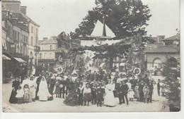 Carte Photo-Fête à Aunay Sur Odon. - Altri Comuni