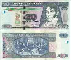 Guatemala 20 QUETZALES Pick New 2008 NEUF - Guatemala