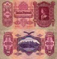 Hongrie - Hungary 100 PENGO 1930 - Pick 98 TB - Ungarn