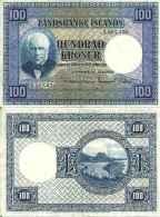 Islande 100 KRONUR Pick 35a TTB - Islande