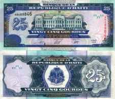 Haïti 25 GOURDES Pick (2000) 266a NEUF-UNC - Haïti