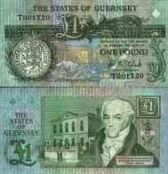 Guernesey 1 POUND Pick 52c NEUF - Guernsey