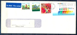 J436- Postal Used Cover. Posted From Canada To Pakistan. Plants. Tree. Strawberry. Blueberry. Sports. Games. - Canada