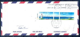 J441- Postal Used Cover. Posted From Canada To Pakistan. Bridge. Light House. Birds. - Canada