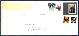 J445- Postal Used Cover. Posted From Canada To Pakistan. Royal Miltary. Ship. Famous People. - Canada