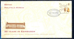 J455- FDC Of  Great Britain England. UK. 30 Years In Edinburgh. - Other
